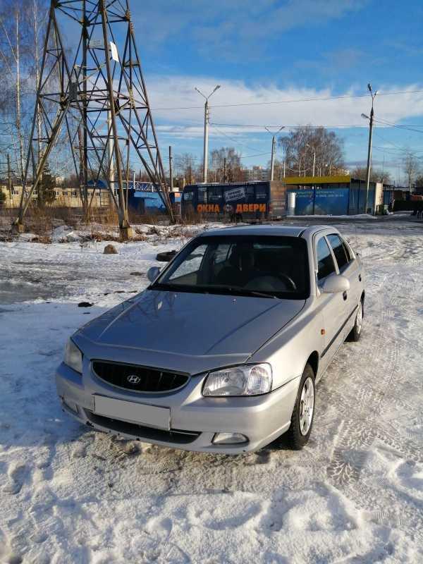 Hyundai Accent, 2005 год, 120 000 руб.