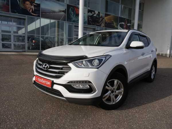 Hyundai Santa Fe, 2017 год, 1 595 000 руб.