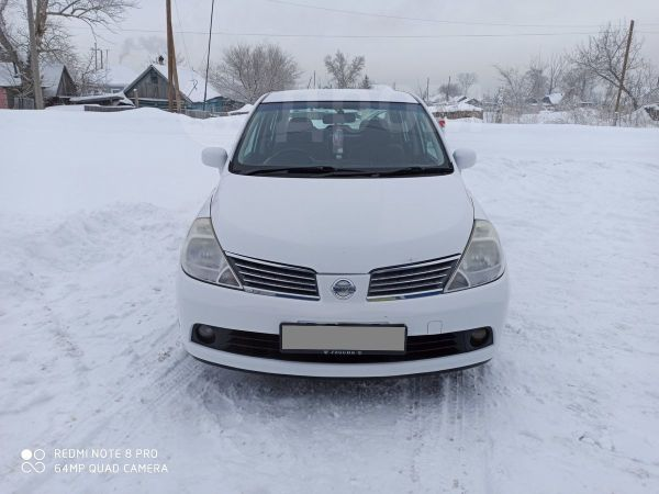 Nissan Tiida Latio, 2007 год, 350 000 руб.