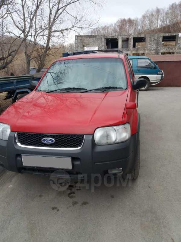 Ford Escape, 2003 год, 415 000 руб.