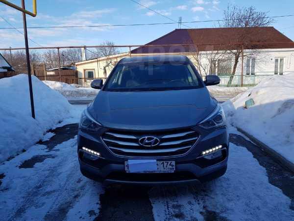 Hyundai Santa Fe, 2018 год, 1 650 000 руб.