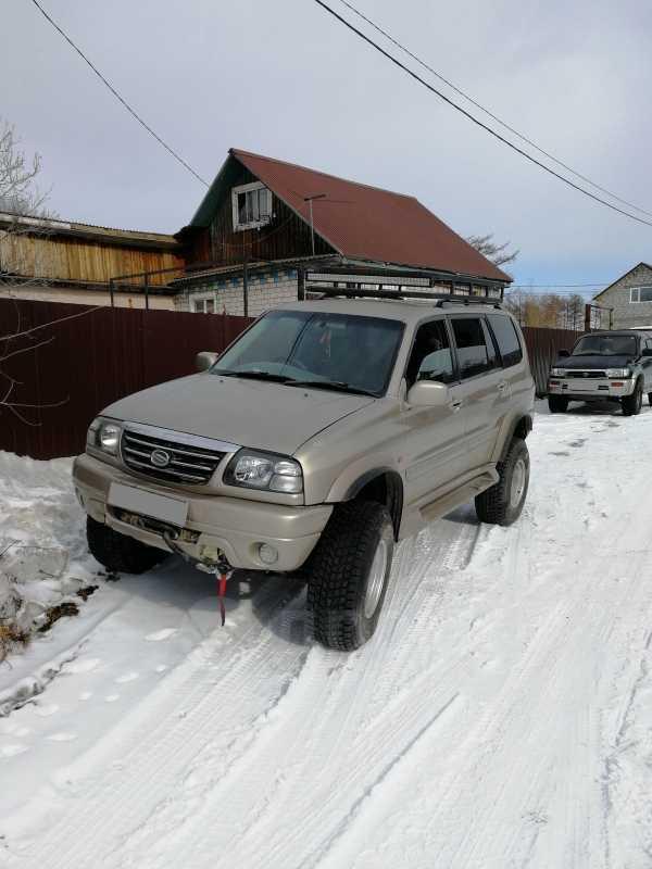 Suzuki Escudo, 2001 год, 495 000 руб.