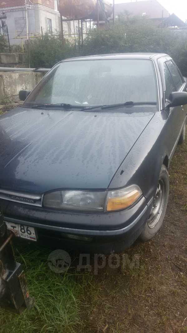 Toyota Carina, 1990 год, 89 000 руб.
