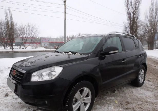 Geely Emgrand X7, 2015 год, 595 000 руб.