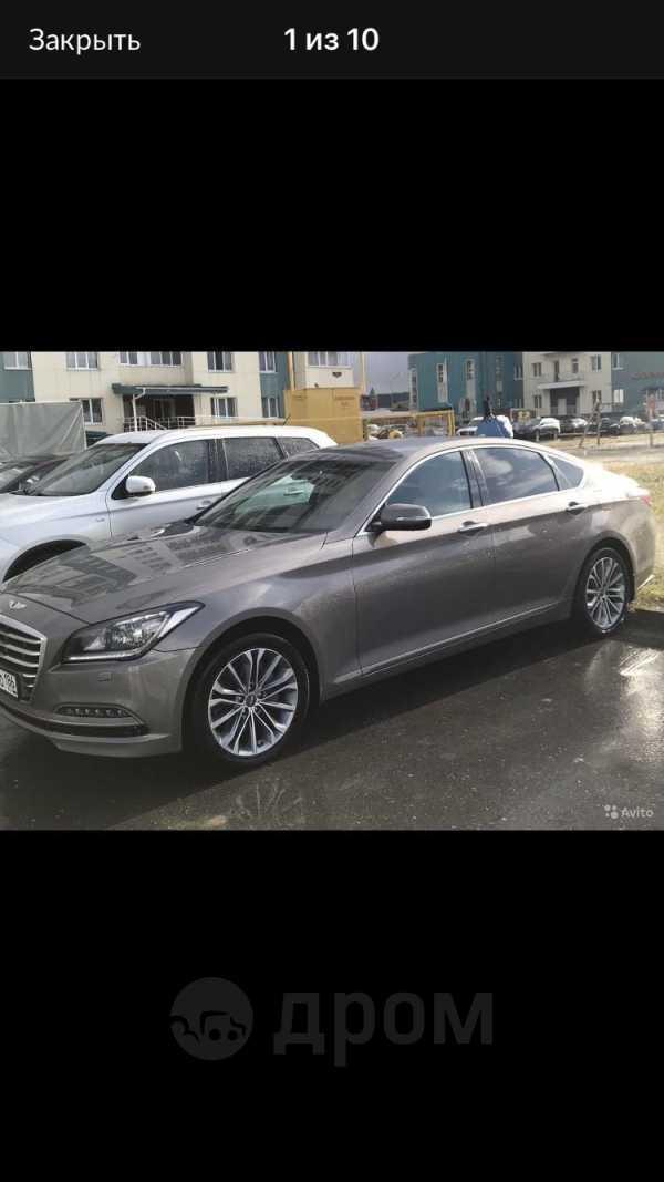 Hyundai Genesis, 2015 год, 1 590 000 руб.