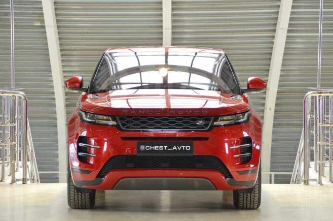 Land Rover Range Rover Evoque, 2019 год, 3 290 000 руб.