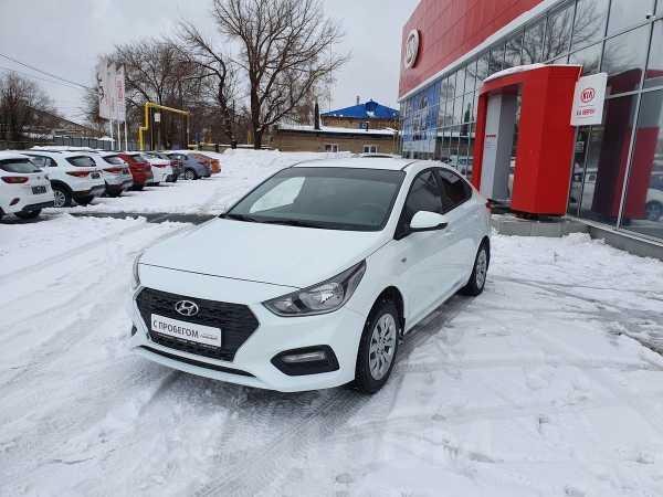 Hyundai Solaris, 2017 год, 619 000 руб.
