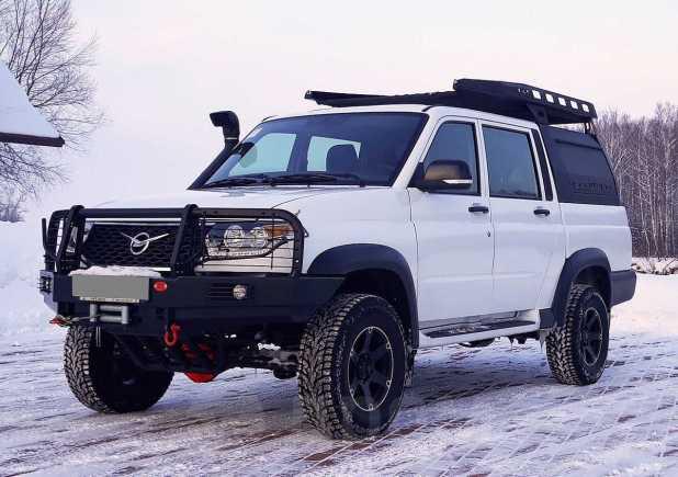 УАЗ Пикап, 2017 год, 950 000 руб.