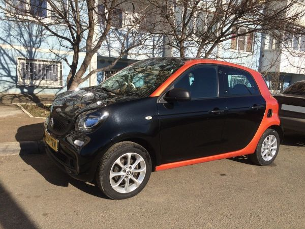 Smart Forfour, 2016 год, 535 000 руб.