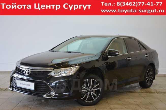Toyota Camry, 2017 год, 1 395 000 руб.