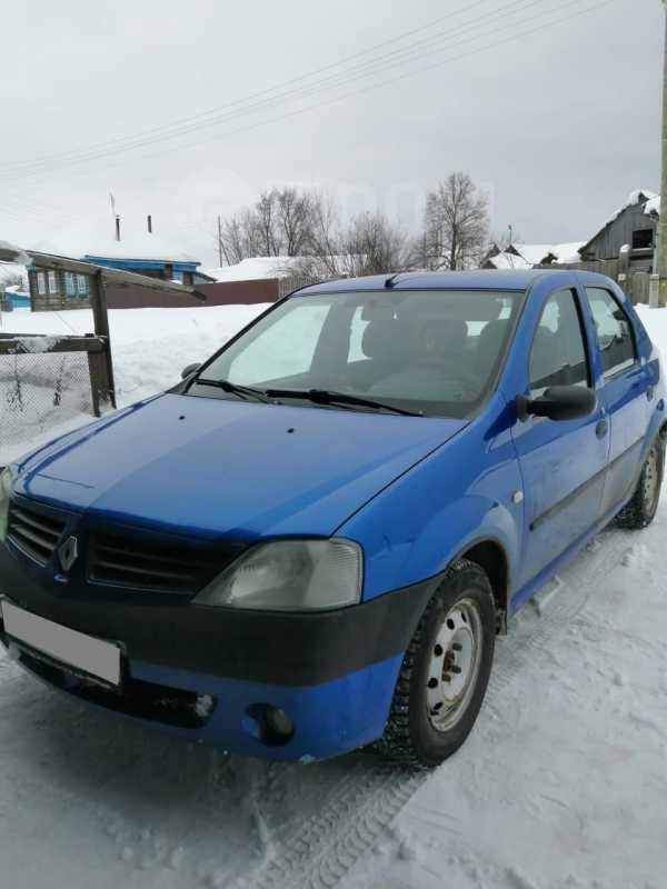 Renault Logan, 2005 год, 160 000 руб.