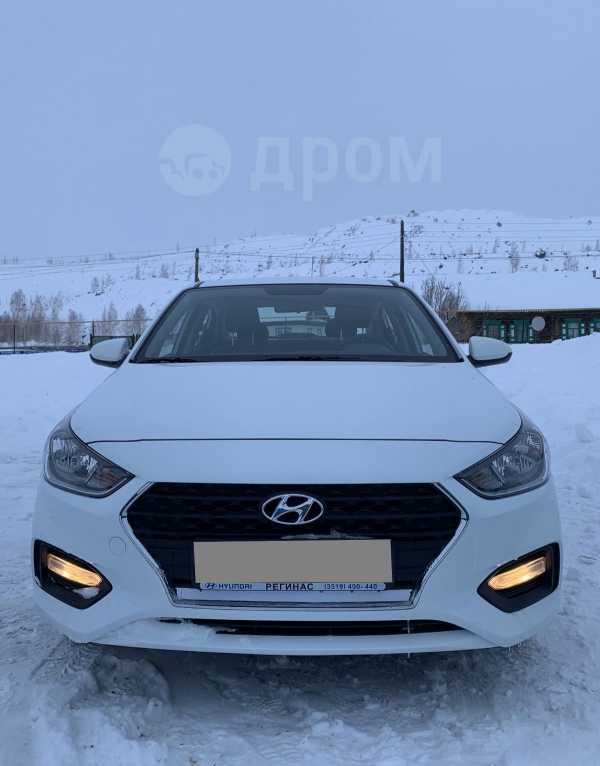 Hyundai Solaris, 2017 год, 590 000 руб.