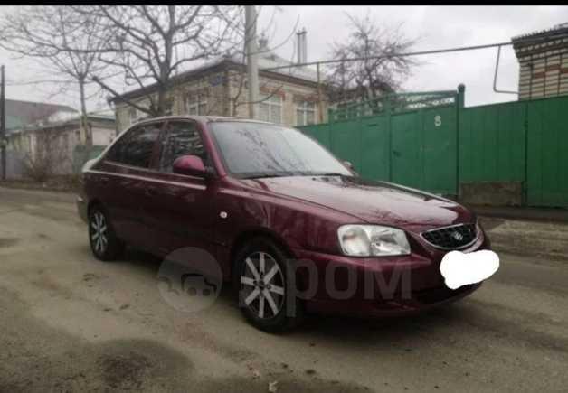 Hyundai Accent, 2007 год, 172 500 руб.