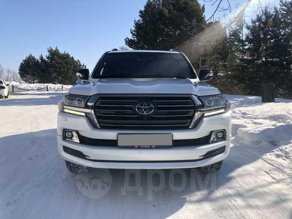 Toyota Land Cruiser, 2017 год, 4 600 000 руб.