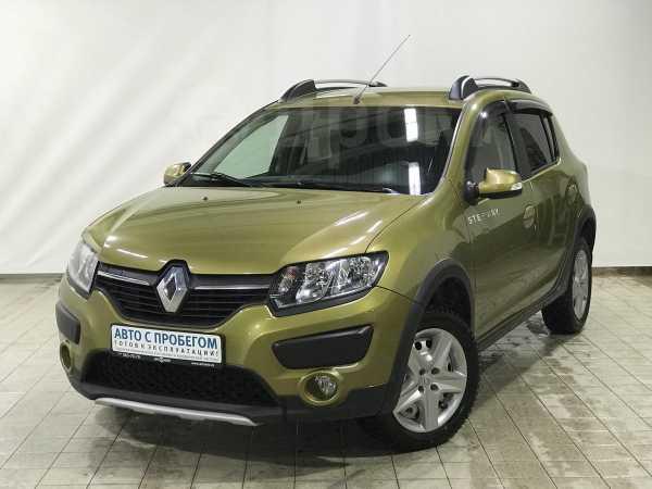 Renault Sandero, 2015 год, 555 390 руб.