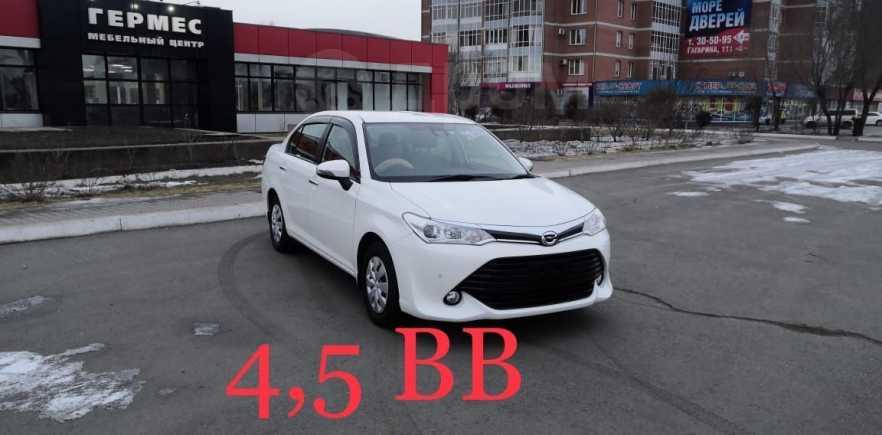 Toyota Corolla Axio, 2016 год, 705 000 руб.