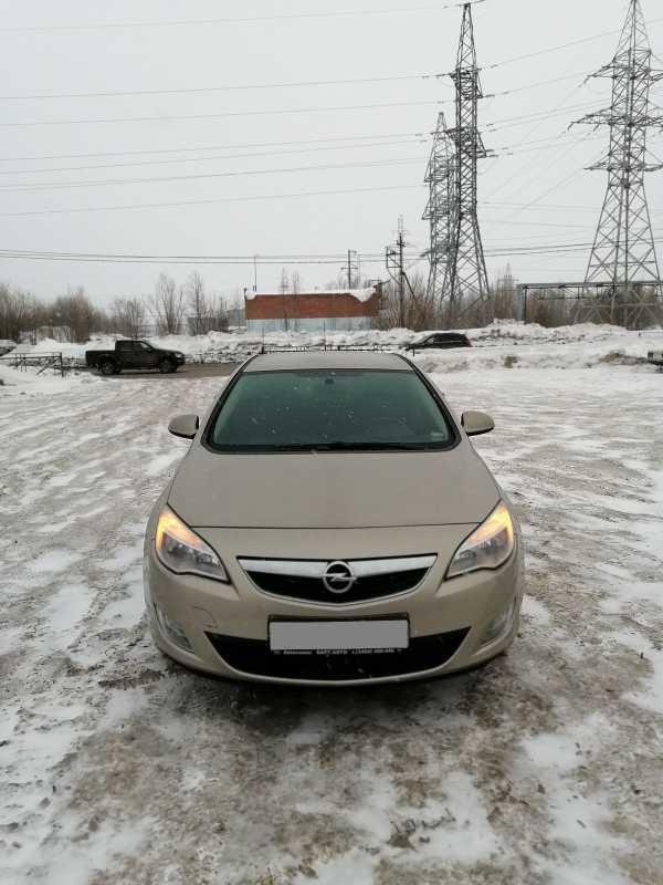 Opel Astra, 2012 год, 505 000 руб.