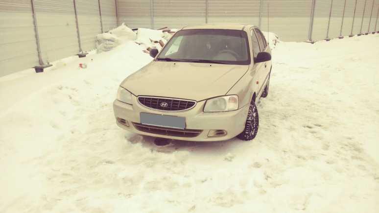 Hyundai Accent, 2003 год, 129 000 руб.