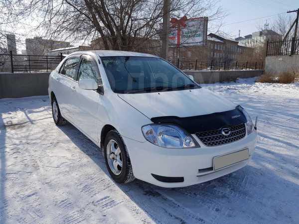 Toyota Corolla, 2002 год, 382 000 руб.
