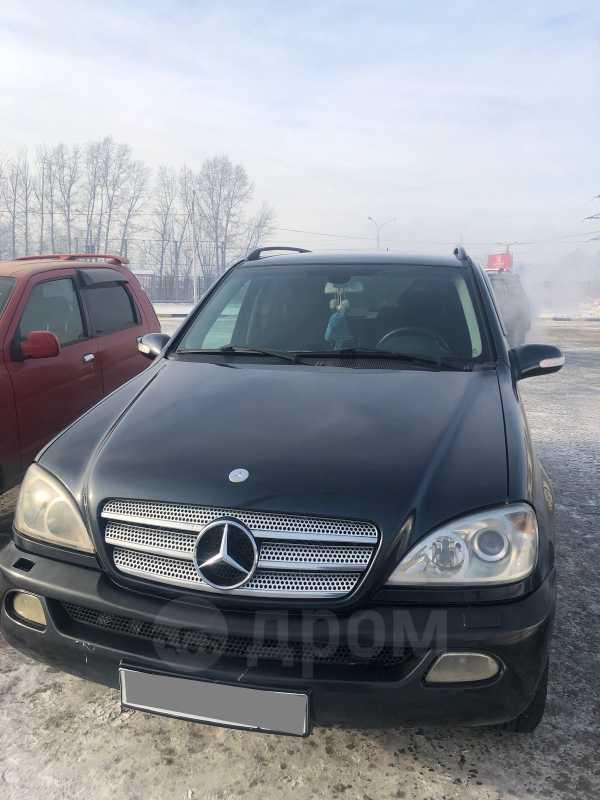 Mercedes-Benz M-Class, 2001 год, 420 000 руб.