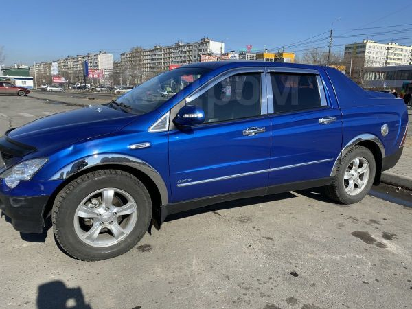 SsangYong Actyon Sports, 2009 год, 470 000 руб.