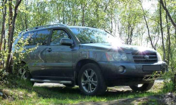 Toyota Highlander, 2003 год, 553 000 руб.