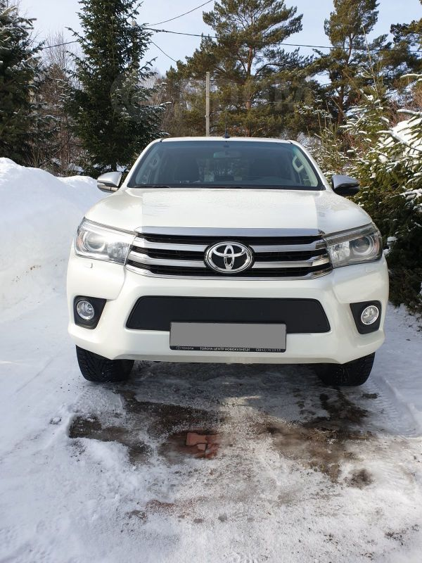 Toyota Hilux Pick Up, 2017 год, 2 320 000 руб.