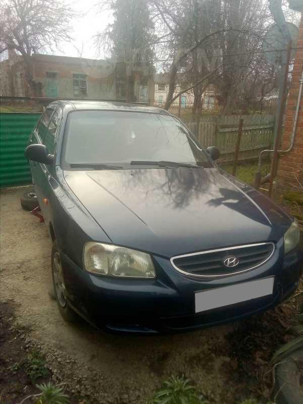 Hyundai Accent, 2008 год, 180 000 руб.