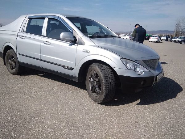 SsangYong Actyon Sports, 2011 год, 600 000 руб.