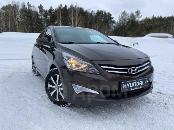 Hyundai Solaris, 2015 год, 619 000 руб.