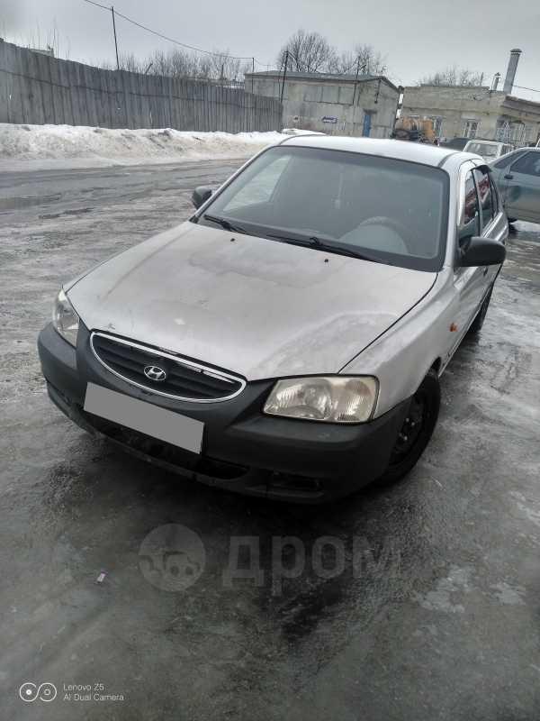Hyundai Accent, 2001 год, 75 000 руб.