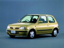 Nissan March рестайлинг 1995, хэтчбек 3 дв., 2 поколение