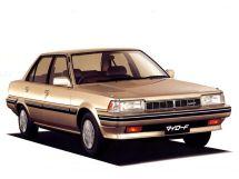Toyota Carina рестайлинг 1986, седан, 4 поколение, T150, T160