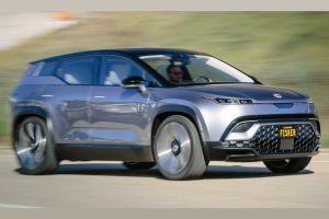 Конкурента Tesla Model Y от Fisker впервые показали на ходу (ВИДЕО)