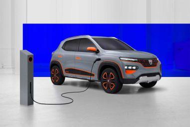 Renault представила под маркой Dacia бюджетный электрокросс