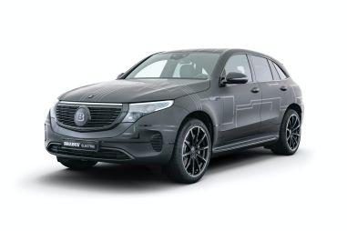Brabus смог нарастить мощность электрокросса Mercedes-Benz EQC