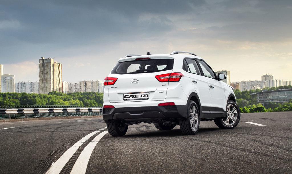 Обновленный Hyundai Creta для России: первые ФОТО