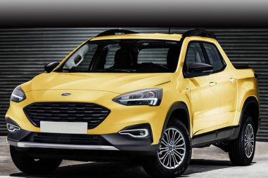 Ford выпустит легковой пикап на базе Фокуса (новые подробности)