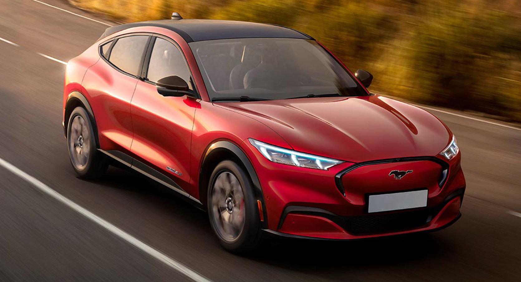 Ford собрал более 45 000 заказов на электрический Mustang Mach-E