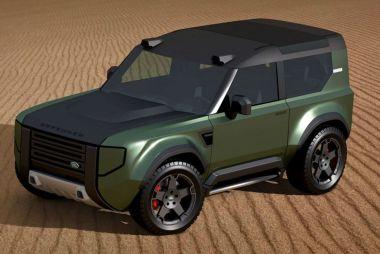 Land Rover выпустит «компактный Дефендер»