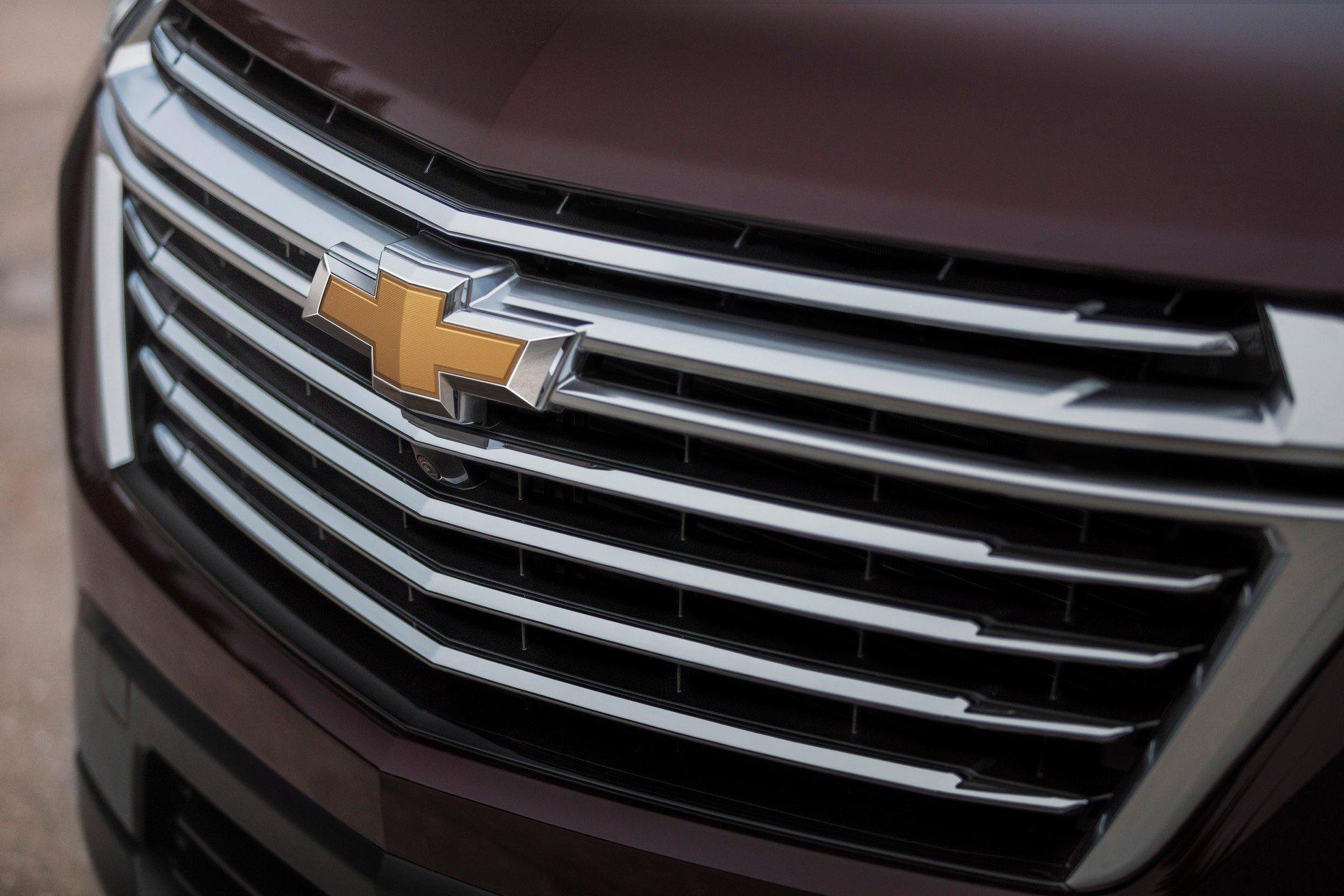 Кроссоверу Chevrolet Traverse «подтянули лицо»