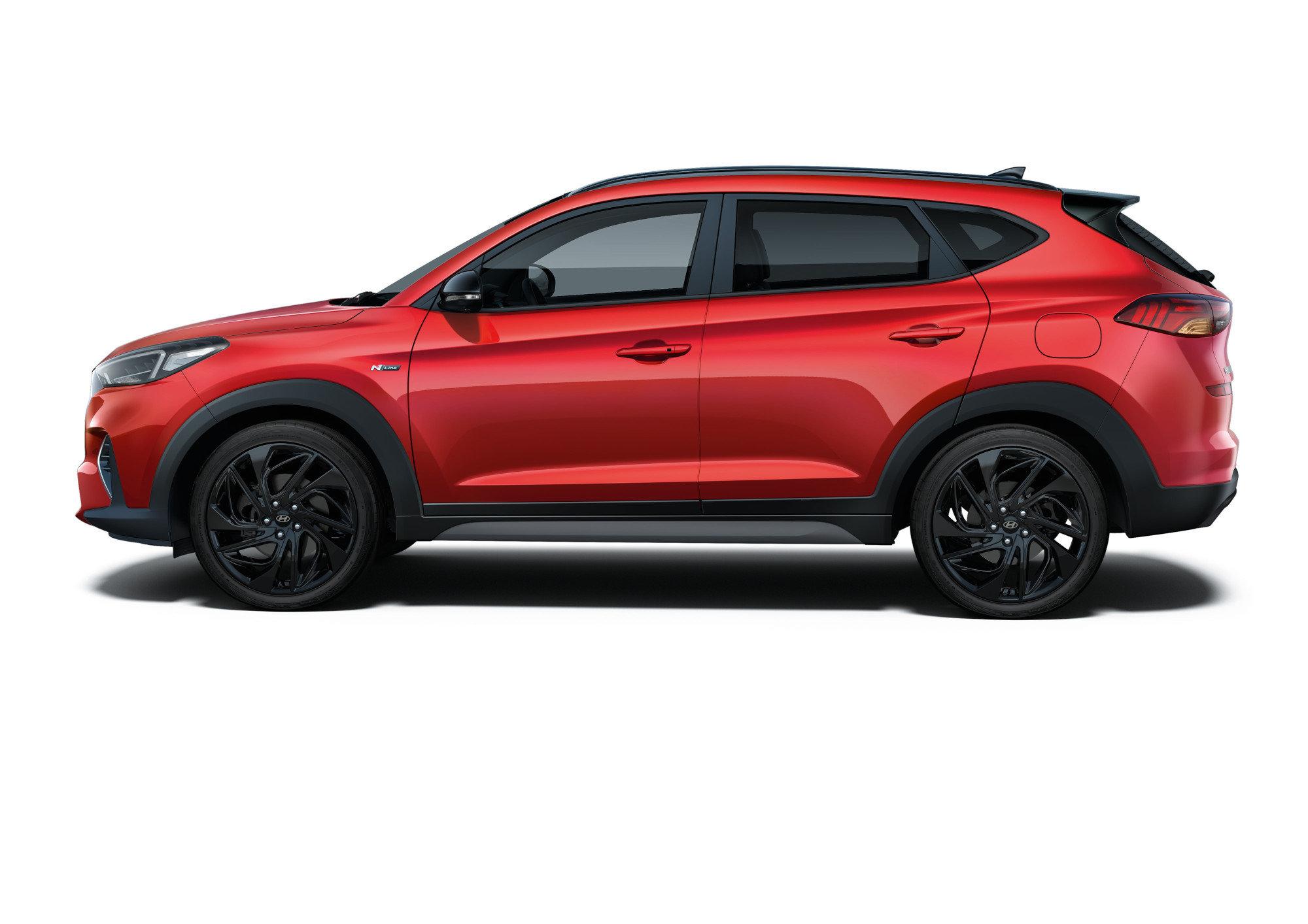 В России начались продажи спортивного Hyundai Tucson (2,2 млн рублей)