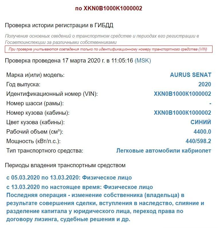 ФГУП НАМИ выпустил второй НЕпарадный кабриолет Aurus