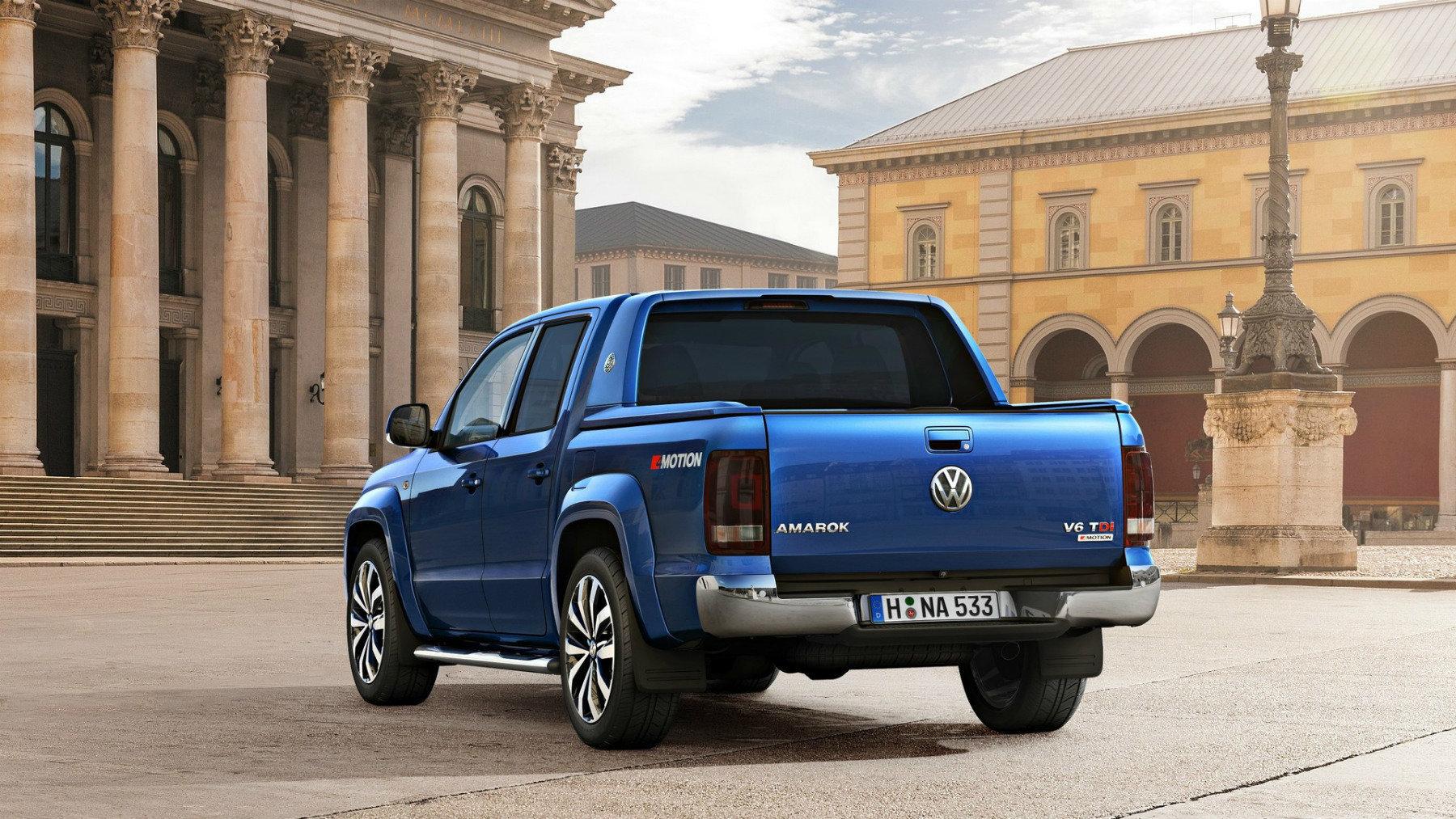 Volkswagen опубликовал эскиз пикапа Amarok нового поколения. Выглядит круто!