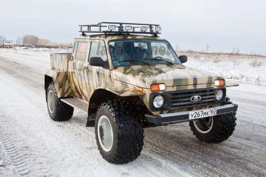 В Тольятти разработали еще одну спецверсию Нивы (ФОТО)