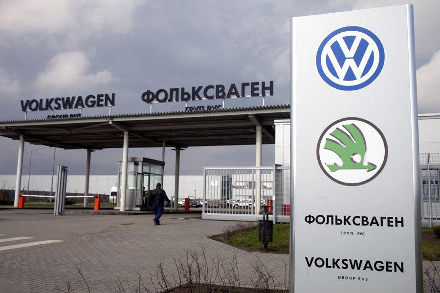 Коронавирус вынудил Volkswagen остановить производство в России