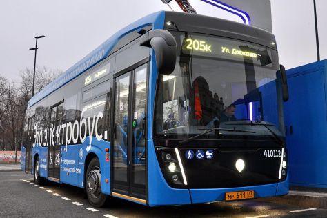 КАМАЗ выпустил видео об истории создания электробуса для Москвы
