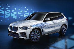 BMW рассказала подробно о водородном X5