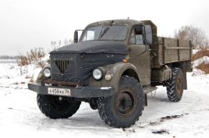 ГАЗ-51/63. Пережившие эпоху