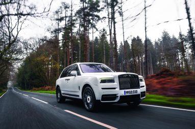 Император кроссоверов. Тест Rolls-Royce Cullinan